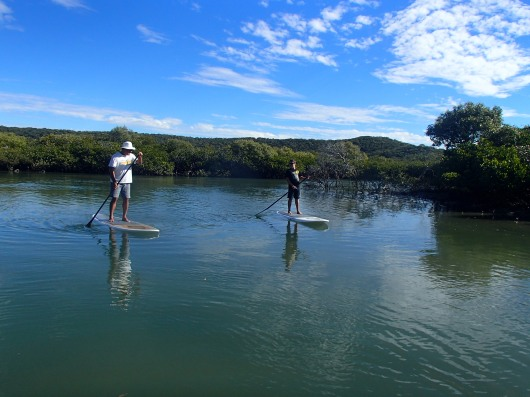 Great Keppel Island SUP exploring